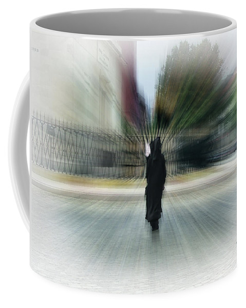 2d Coffee Mug featuring the photograph I Walk Alone by Brian Wallace
