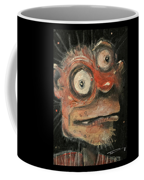 Man Coffee Mug featuring the painting Irwin by Tim Nyberg