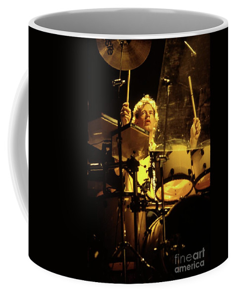 Drummer Coffee Mug featuring the photograph King Crimson - Bill Bruford by Concert Photos
