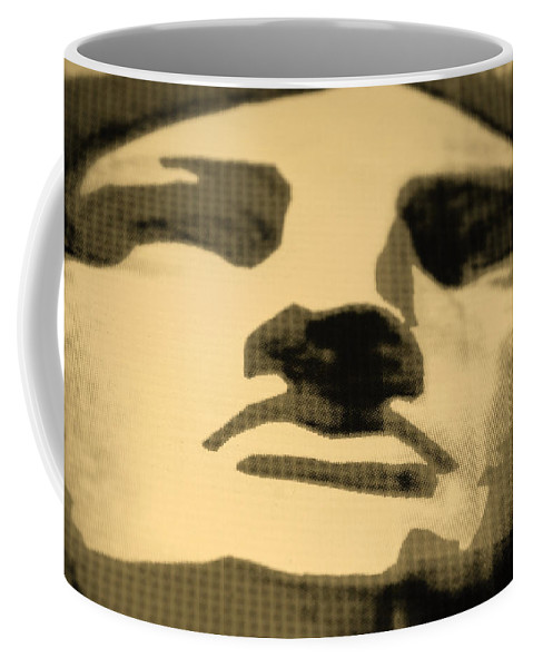 Statue Of Liberty Coffee Mug featuring the photograph Lady Liberty In Sepia by Rob Hans