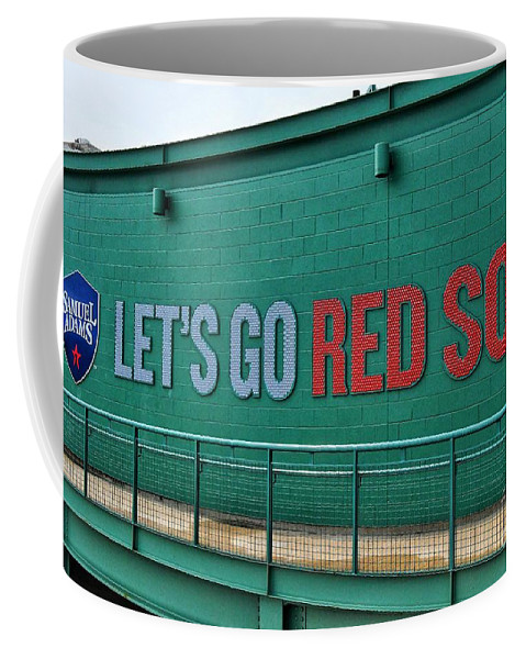 Red Sox Coffee Mug featuring the photograph Let's Go Red Sox by SoxyGal Photography