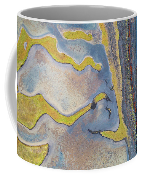 Coast Coffee Mug featuring the photograph Longnecks And Black Beach by Paul Oostveen