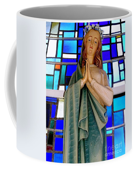 Mother Mary Coffee Mug featuring the photograph Lovely Mary by Ed Weidman
