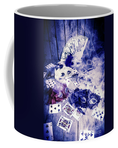 Poker Coffee Mug featuring the photograph Make Out Like A Bandit by Jorgo Photography - Wall Art Gallery