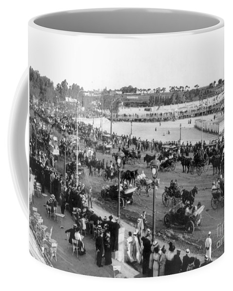 1914 Coffee Mug featuring the photograph Montevideo, 1914 by Photograph