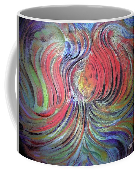 Abstract Coffee Mug featuring the photograph New Life by Rosanne Licciardi