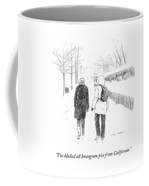 New York Snowstorm Coffee Mug