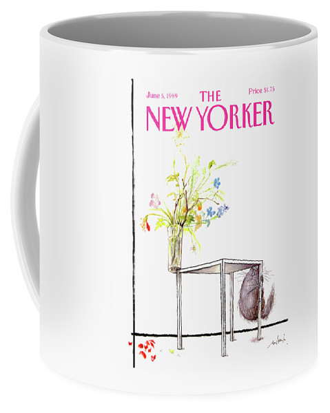 New Yorker Cover June 5 1989 Coffee Mug
