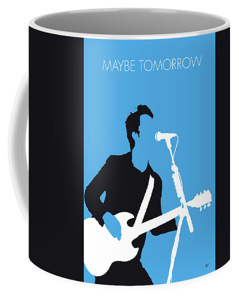 Stereophonics Coffee Mug featuring the digital art No239 My Stereophonics Minimal Music Poster by Chungkong Art
