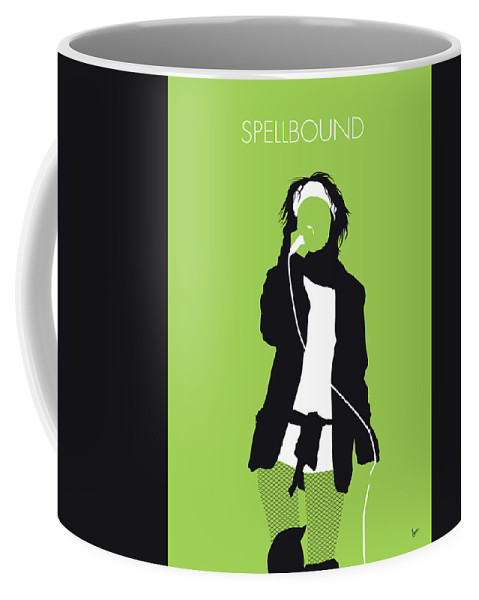 Siouxsie Coffee Mug featuring the digital art No296 My Siouxsie And The Banshees Minimal Music Poster by Chungkong Art