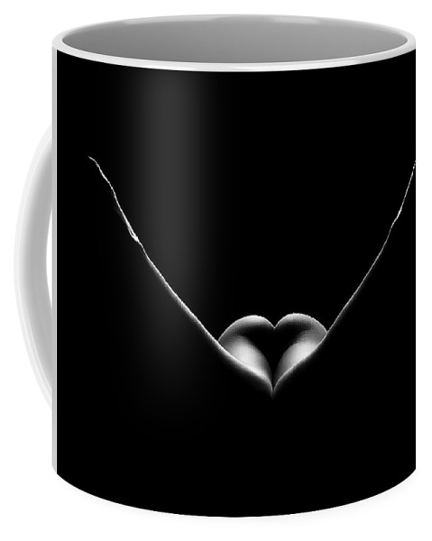 Woman Coffee Mug featuring the photograph Nude Woman Bodyscape 27 by Johan Swanepoel