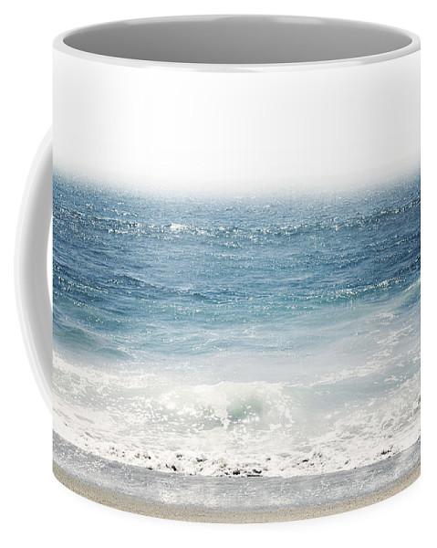 Ocean Coffee Mug featuring the photograph Ocean Dreams- Art by Linda Woods by Linda Woods