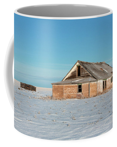 Old Coffee Mug featuring the photograph Old Dewald Place by Todd Klassy