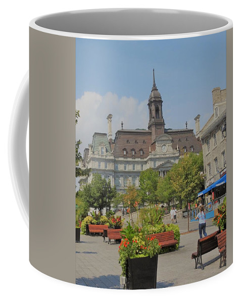 Olde Montreal Coffee Mug featuring the photograph Olde Montreal by David Gorman