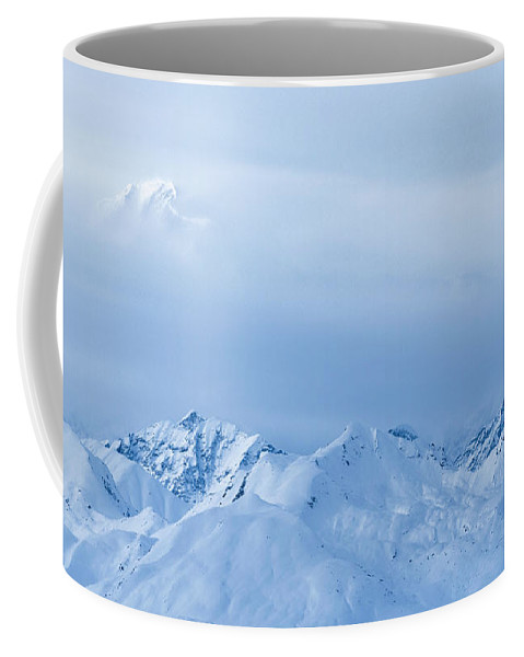 Alaska Coffee Mug featuring the photograph Ominous by Chad Dutson