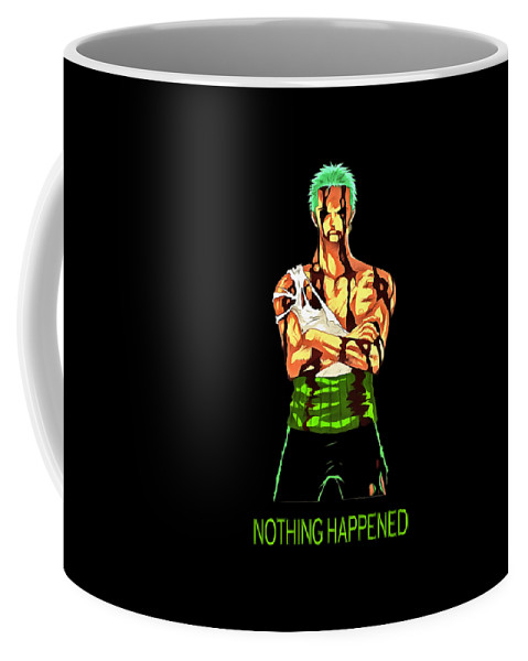Summer Coffee Mug featuring the digital art Onepiece by Jek Kil