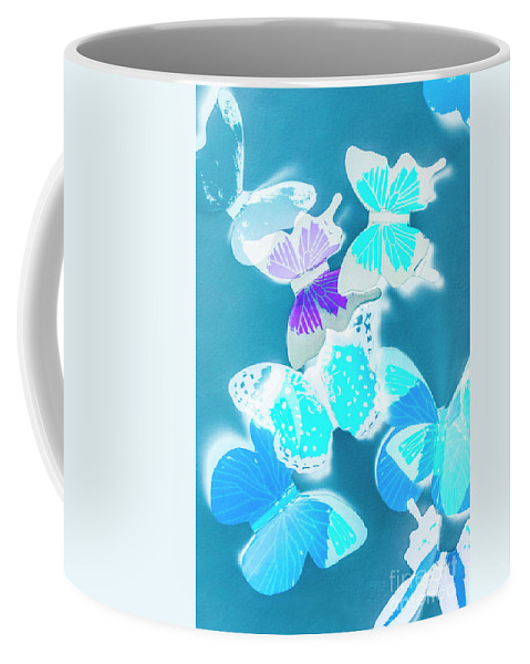 Blue Coffee Mug featuring the photograph Out Of The Blue by Jorgo Photography - Wall Art Gallery