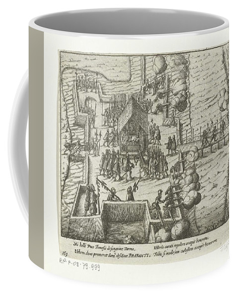 Nature Coffee Mug featuring the painting Parma Knighted In The Order Of The Golden Fleece, 1585, Anonymous, After Frans Hogenberg, 1613 - 161 by Frans Hogenberg