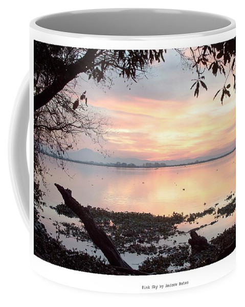 Landscape Coffee Mug featuring the photograph Pink Sky by Andrew Bates