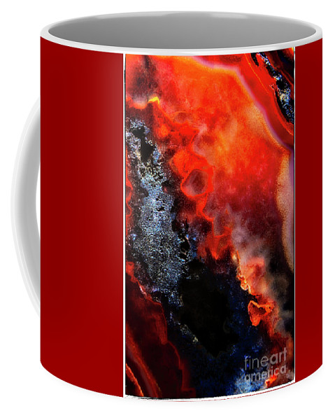 Fine Art Photography Coffee Mug featuring the photograph Pit by John Strong