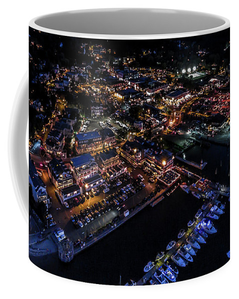 Coffee Mug featuring the photograph Port Jeff Station by Edward Love