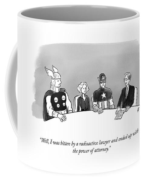 Power of Attorney Coffee Mug
