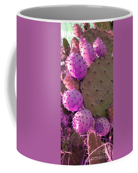 Prickly Pear Cactus Coffee Mug featuring the photograph Prickly Pear Cactus by Paola Baroni