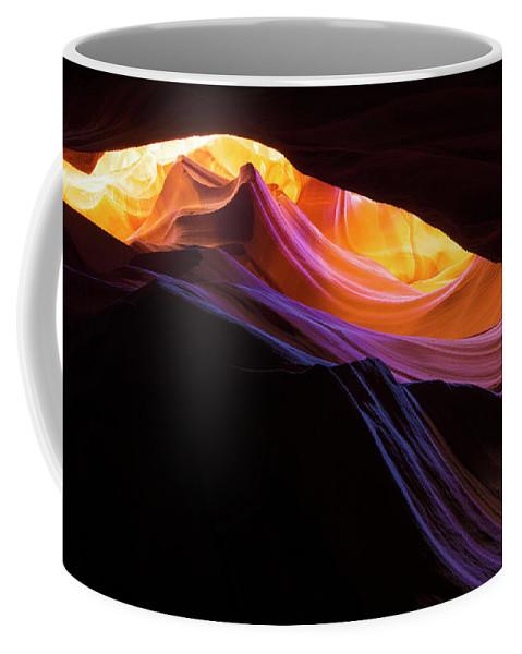 Rainbow Canyon Coffee Mug featuring the photograph Rainbow Canyon by Chad Dutson
