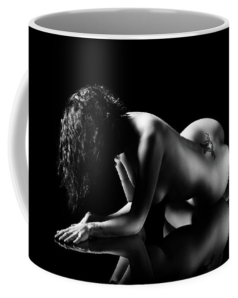 Woman Coffee Mug featuring the photograph Reflections Of D'nell 2 by Johan Swanepoel