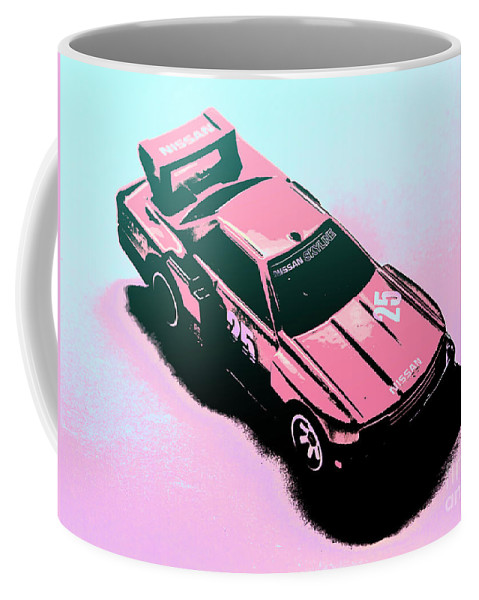 Retro Coffee Mug featuring the photograph Retro Race Colours by Jorgo Photography - Wall Art Gallery