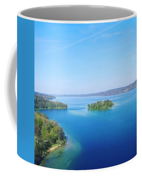 Starnberg Coffee Mug featuring the photograph Roseisland by Daniel Hornof
