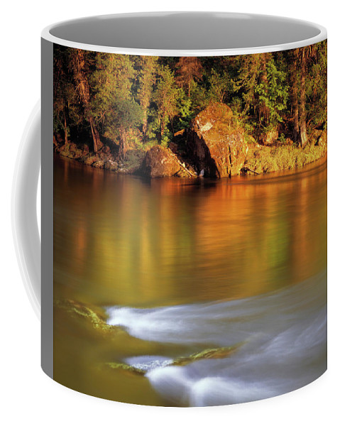 Selway River Coffee Mug featuring the photograph Selway River by Leland D Howard