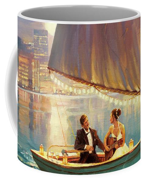 Romance Coffee Mug featuring the painting Serenade by Steve Henderson