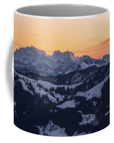 Mountains Coffee Mug featuring the photograph Silence by Nedjat Nuhi