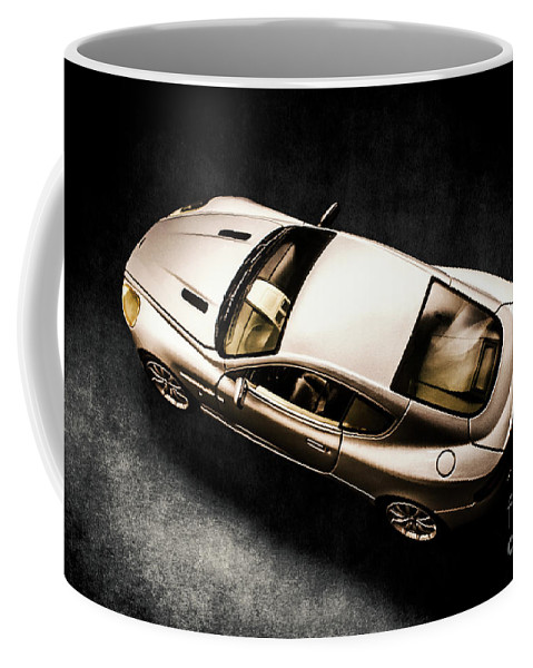 Automobile Coffee Mug featuring the photograph Silver Styling by Jorgo Photography - Wall Art Gallery