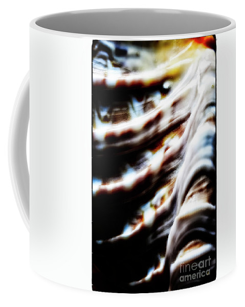 Fine Art Photography Coffee Mug featuring the photograph Something Attached to His Face by John Strong