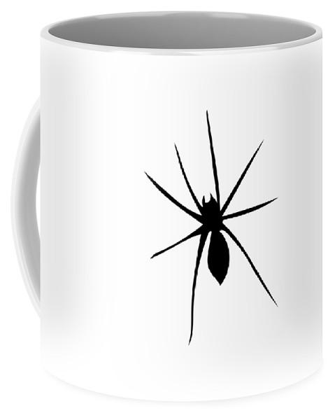 Spiders Coffee Mug featuring the digital art Spider by James Gatlin