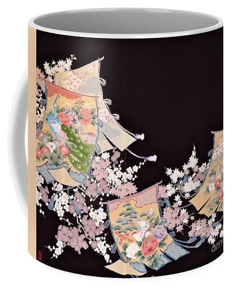 Coffee Mug featuring the digital art Spirit of Japan T25 by Miho Kanamori