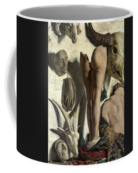 Fortuny Coffee Mug featuring the painting Still Life - The Plasters In The Atelier by Mariano Fortuny y Madrazo