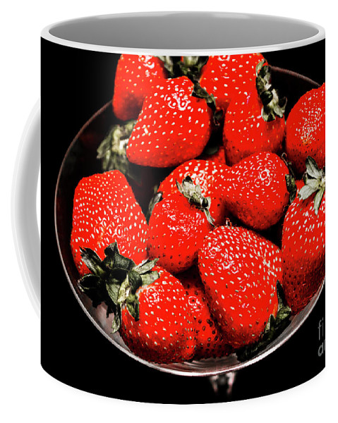 Strawberries Coffee Mug featuring the photograph Strawberry Cocktail by Jorgo Photography - Wall Art Gallery