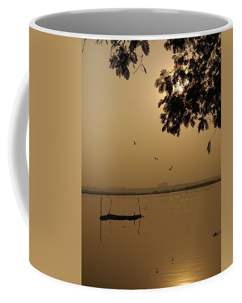 Sunset Coffee Mug featuring the photograph Sunset by Priya Hazra