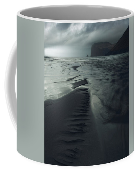 Giant Coffee Mug featuring the photograph The Giant And The Hag by Tor-Ivar Naess