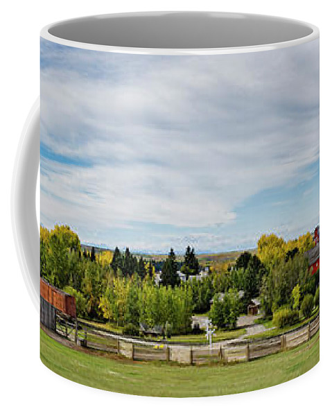 Allenfoto Coffee Mug featuring the photograph The View by Brad Allen Fine Art