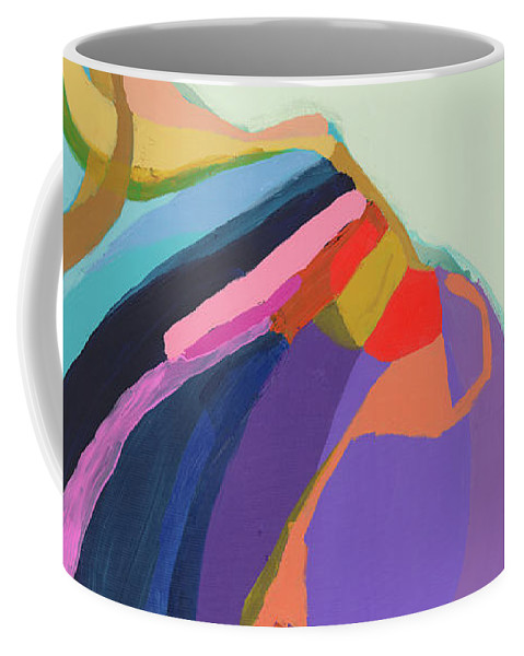 Abstract Coffee Mug featuring the photograph The Waiting Game by Claire Desjardins