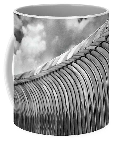 New York Coffee Mug featuring the photograph Top Of The Empire State Building No. 2 by Jeanne OConnor