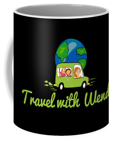Travel With Wendy Coffee Mug featuring the photograph Travel With Wendy by Wendy Payne Travel Writer