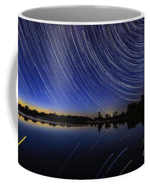 Iowa Coffee Mug featuring the photograph Twilight's End by Willard Sharp