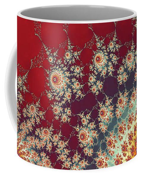 Art Coffee Mug featuring the digital art Unity by Ester McGuire