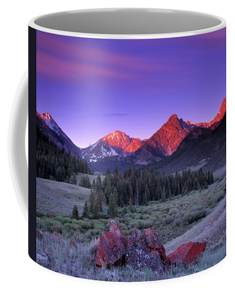 Idaho Scenics Coffee Mug featuring the photograph Upper Pahsimeroi by Leland D Howard