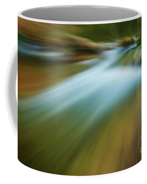 Photography Coffee Mug featuring the photograph Waterfall Abstract by Vicente Sargues